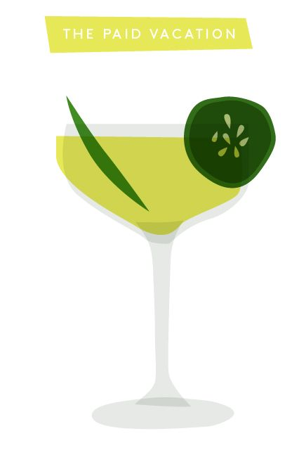 5 Game-Changing Margarita Recipes #refinery29  http://www.refinery29.com/nyc-best-margaritas#slide2  The Paid Vacation Serves: 1Supplies & Ingredients Coupe glass Pint glass Shaker with strainer Fine strainer Muddler Jigger 3 slices of cucumber 1/2 oz fresh lime juice 1/2 oz simple syrup 1 oz hickory-smoked pineapple puree 1 oz tequila 1 oz mezcal Dash of habanero bittersDirections Hickory-Smoked Pineapple Puree: There's two ways to prepare this ingredient, according to Marshall. If the ...