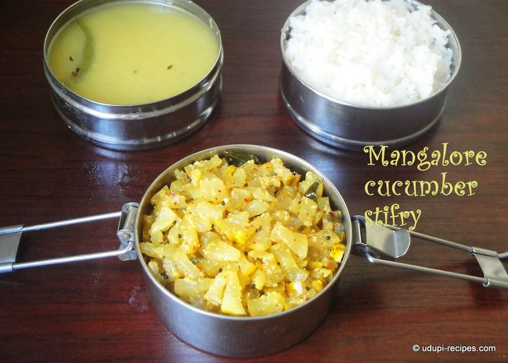 Mangalore Cucumber Stir fry | Southekayi Palya I Yellow Cucumber Dry Curry - Udupi Recipes