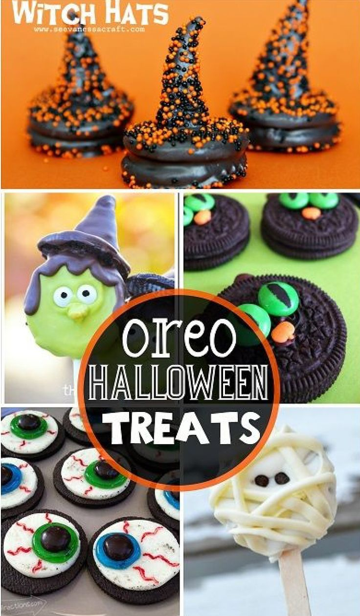 These are cute but fun and easy oreo desserts holidays for Creative ideas for halloween treats