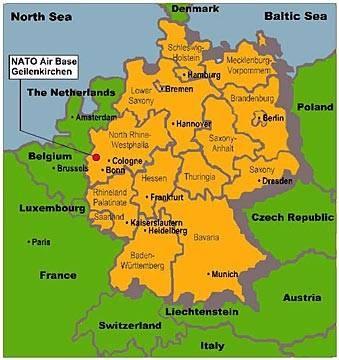geilenkirchen nato air base germany