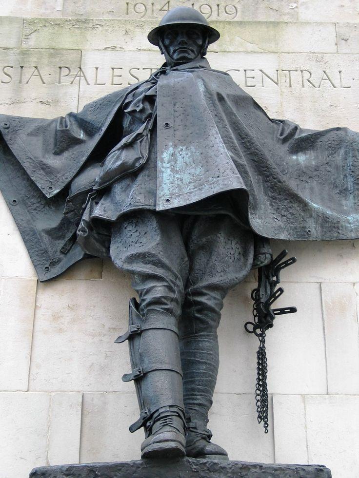 (The Great War - War Memorials) Royal Artillery Memorial, Hyde Park Corner.