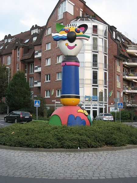 Turmkater von Otmar Alt in Grevenbroich
