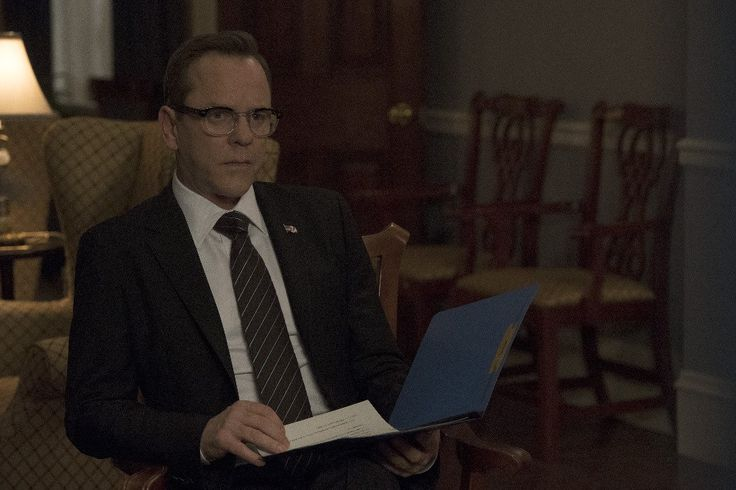 """On Designated Survivor Season 1 Episode 16, """"Party Lines,"""" things heat up with the President's gun control bill while a terrorist threat looms. Here's a preview!"""