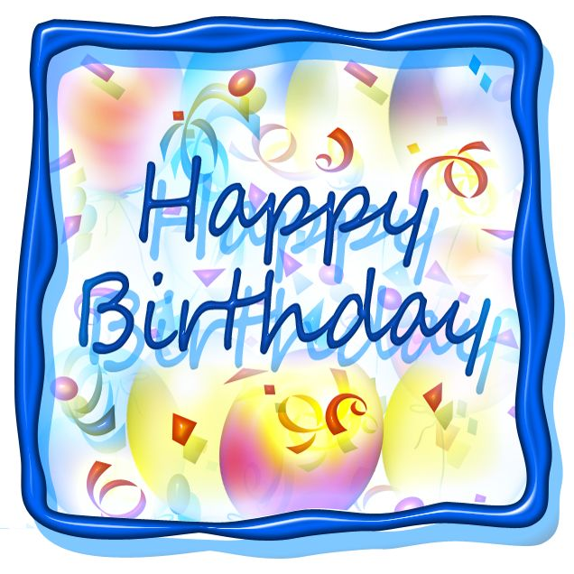 Birthday Clip Art And Free Birthday Graphics: Free Happy Birthday Clip Art