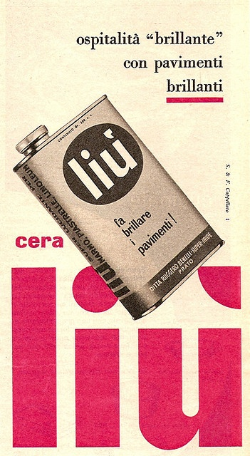 Cera Liù 1958 by kiucini, via Flickr