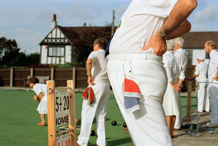 Photograph: England. Bristol. Playing bowls. 1995-1999 © Martin Parr