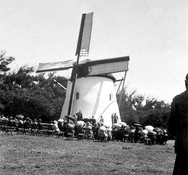 Restored Mostert's Mill  1936. by Etiennedup, via Flickr