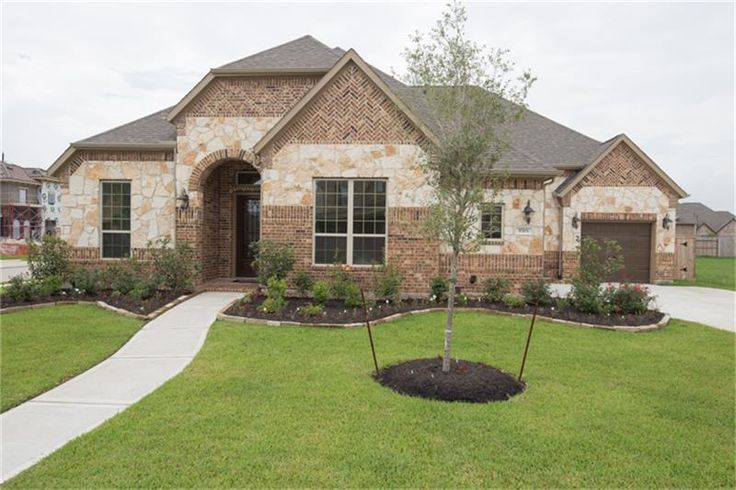 """9703 Pear Place Court Cypress, TX 77433: Photo Stunning Village Builders Mayfaire Plan with Brick/Stone Elevation """"B""""in Cypress Creek Lakes!"""