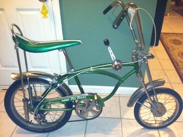 cd24bc62c8a 1970 Schwinn PEA PICKER Stingray Bicycle Original 5 Speed | Penelope Peters  | Bicycle, Eletric bike, Bike accessories
