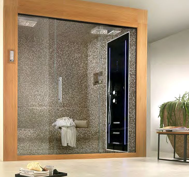 The Ultimate Shower Room. Prefabricated and complete with a host of Wellness features.