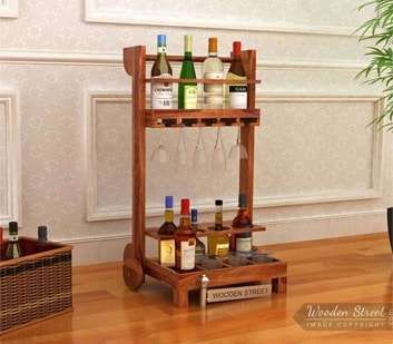 Buy #Bar #Trolleys online from Wooden Street and store your bottles in style. Bring some versatile and rustic appeal to your living space with amazing collection of #storage #furniture. Visit : https://www.woodenstreet.com/storage-furniture in #Kolkata #Lucknow #Ludhiana #Mumbai #Nagpur