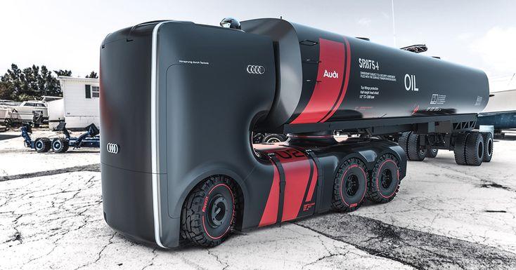 Hoy conoceremos el super camión creado porArtem SmirnovyVladimir Panchenko, un Concept Truck realizado por este par de jóvenes e inteligentes diseñadores industriales y artistas digitales. Vea otros artículos de nuestro Magazine dineroclub.netAUDI y Faw-Volkswagen trabajarán con AliBaba y Baidu en el auto del futuro @alvarodabril@AUDI y su comercial donde se compara con primera clase de …