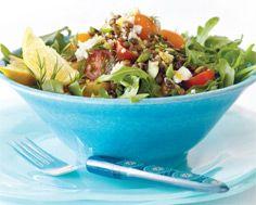 Lemony Lentil and Arugula Salad