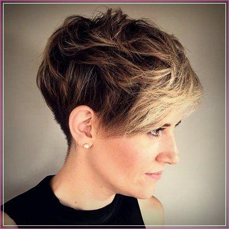 21 Kurze Kantige Frisuren für Dickes Haar ...