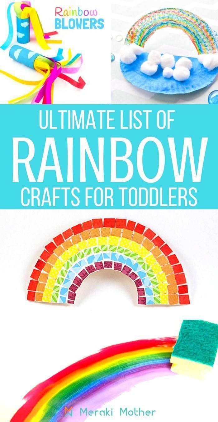 Rainbow Activities For Preschoolers Crafts For Kids Rainbow