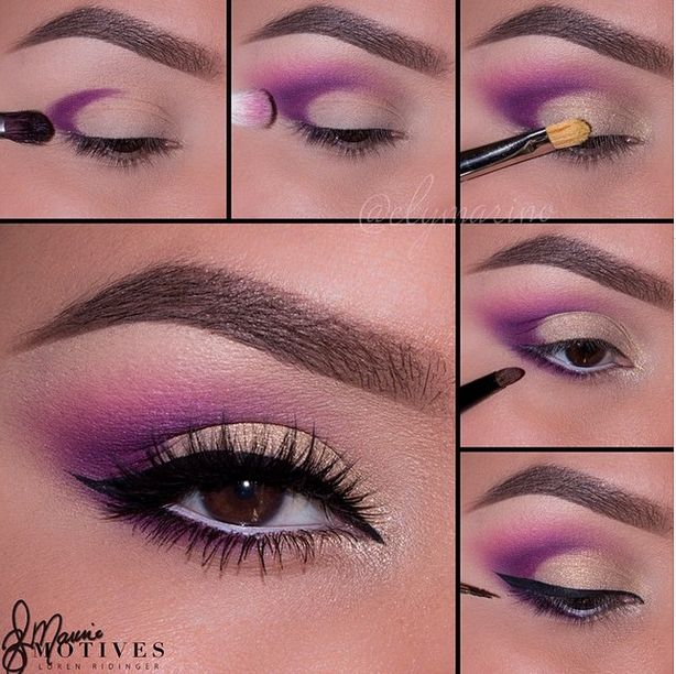 Perfect shades of purple by the talented ✨@elymarino✨ Close up & how to with our Starlet lashes #elymarino #motivescosmetics #starlet #starletlashes #elymarino #lashes #eyelashes #tutorial #purplemakeup #beauty #love #houseoflashes