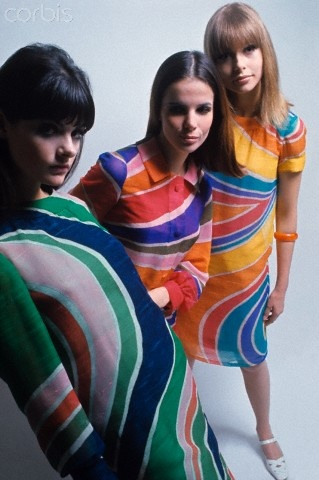 pinterest.com/fra411 #60's - models in dior 1966