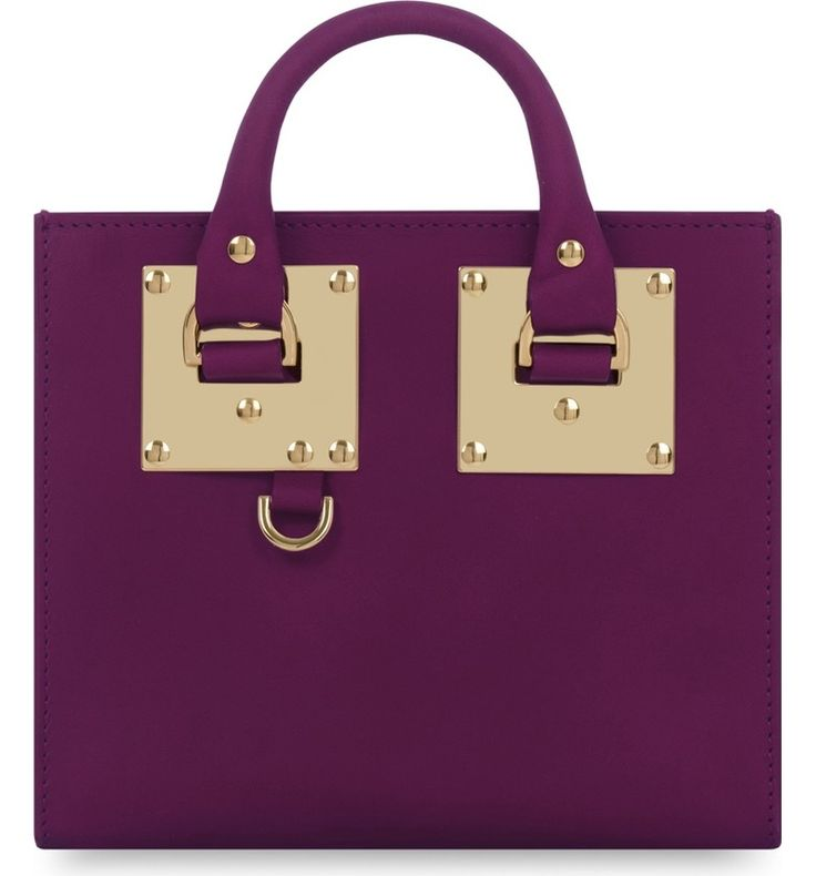 Main Image - Sophie Hulme 'Albion' Box Tote