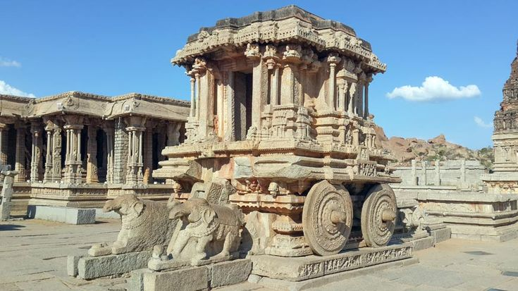 Chariot at Vitthala temple in #Hampi