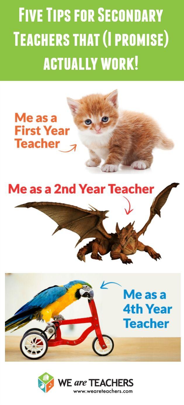 Classroom management tips for secondary teachers by the fabulous blogger Love, Teach.