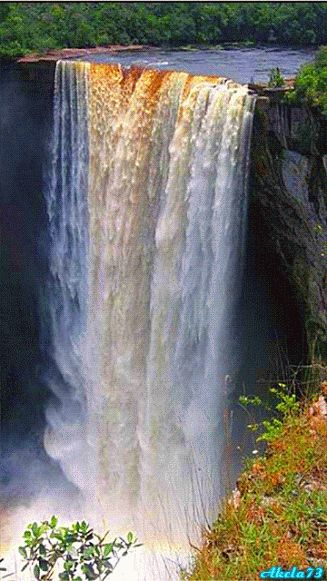 Kaieteur Falls, Guyana Kaieteur Falls is the world's widest single drop…