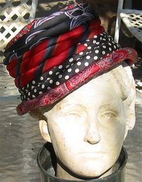 This has got to be one of my favorite ideas!! How to Make Hats from Recycled Neck Ties