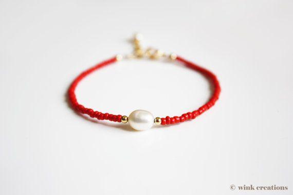 Friendship bracelet - pearl