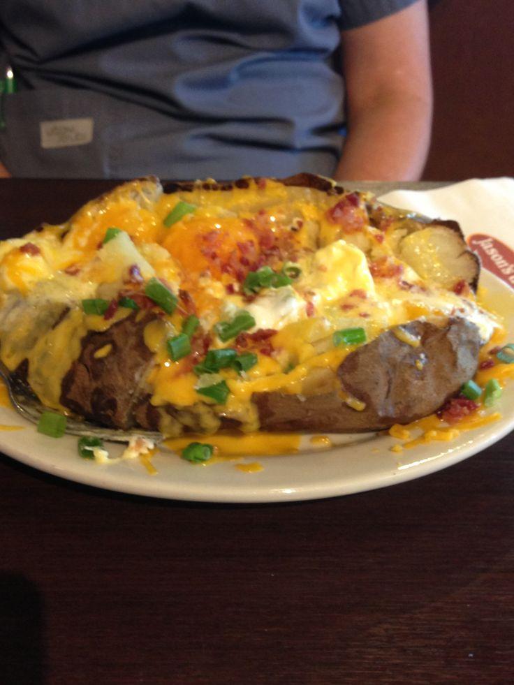 Loaded Baked Potato From Jason S Deli Yum Pinterest