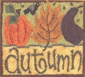 Autumn Splendor Punch Needle Pattern (LKPN003) Embroidery Patterns by Lizzie Kate
