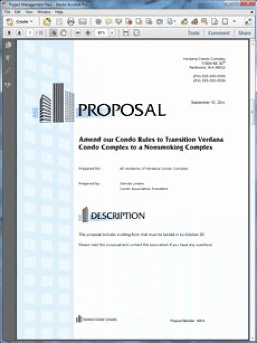 Property Management Proposal Template Lovely How To Write A Real