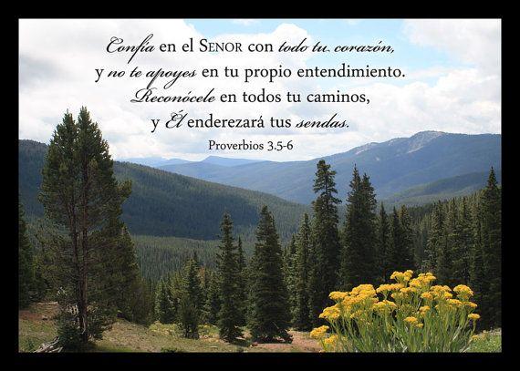 Arte Cristiano Proverbios 3 Fotografia de las por PicturesofFaith