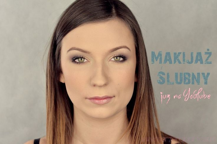 MAKIJAŻ ŚLUBNY na modelce ( Bridal Makeup On Model )