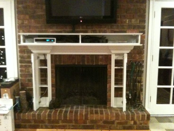 13 Best Images About How To Hide Components On Fireplace On Pinterest Extra Storage Hidden