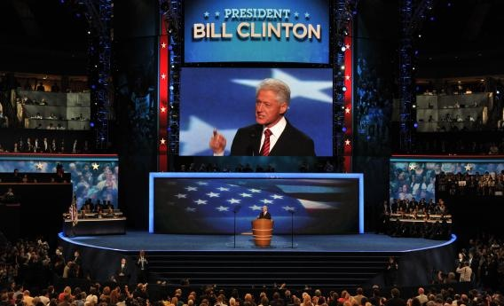 bill clinton speech @ dnc