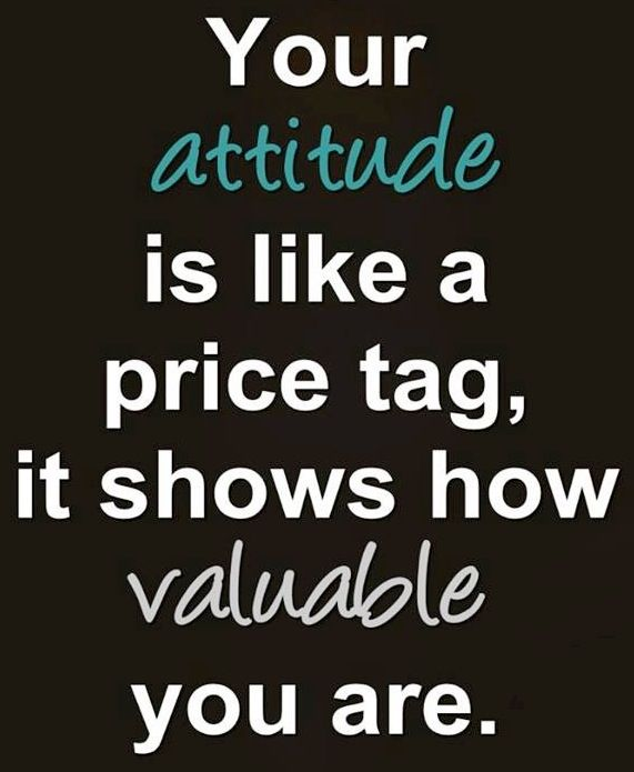 Attitude quote via Carol's Country Sunshine on Facebook