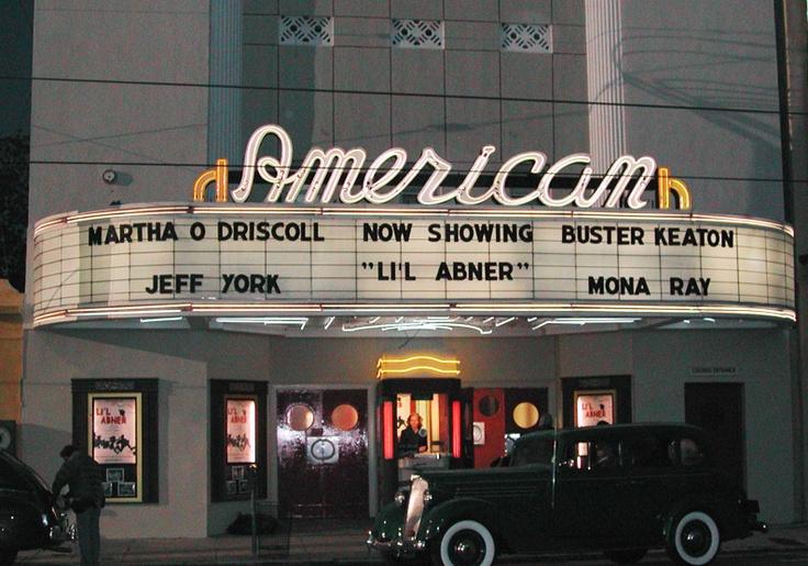 Vintage Movie Theater 95