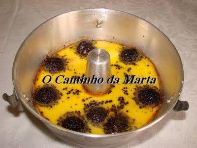 O Cantinho da Marta: Pudim de Bombons Ferrero Rondnoir