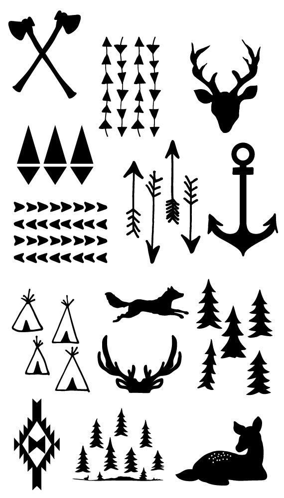 Lumberjack or camping printable free