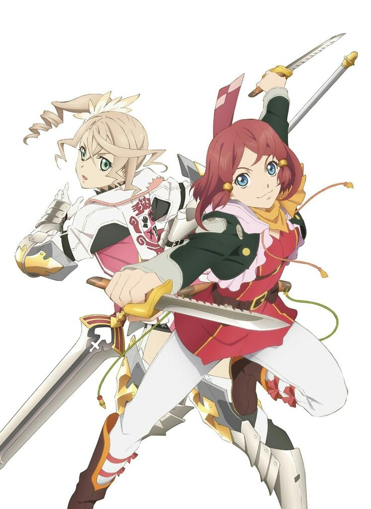 Alisha & Rose tales of zestiria
