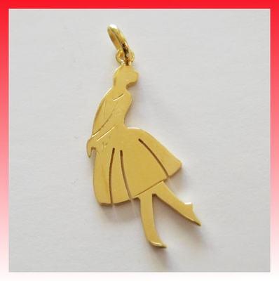 """Ciondolo Danza/Ballo """"Dolce Ballerina"""" Argento dorato 925 Sterling Pendentif"""