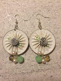 La primavera sta arrivando ed io sto già pensando a creare nuovi orecchini e collane dai colori chiari e delicati...fanno proprio al caso mi...