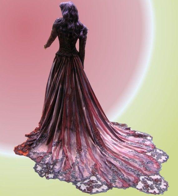 Gothic Kleid Königin der Vampire