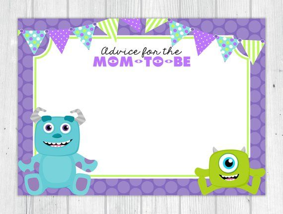 Please Read Shop Policies Before Purchasing Click Here For Shop Policies Https Www Etsy Com Monsters Inc Baby Shower Monsters Inc Baby Disney Baby Shower