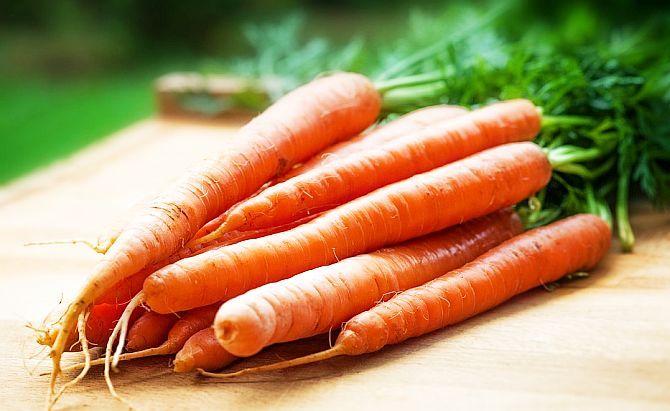 Morcovii reduc nivelul colesterolului din ficat și din sânge, nivelul trigliceridelor, nivelul tensiunii arteriale și a glicemiei. Pentru acest motiv sunt recomandați