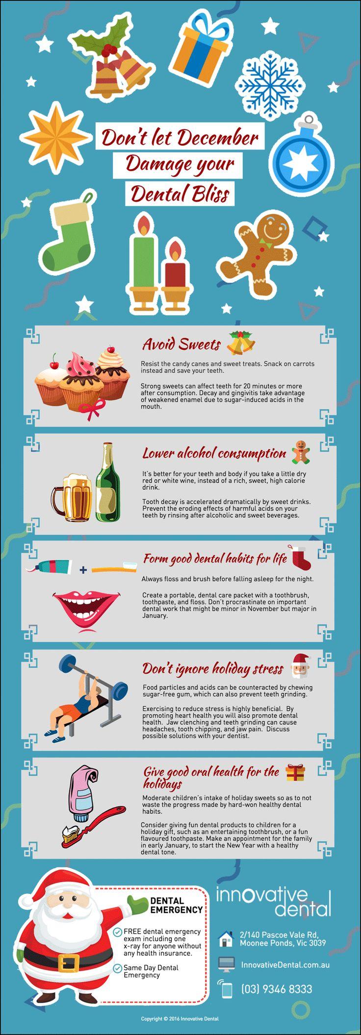 Don't let December Damage your Dental Bliss innovativedental.com.au