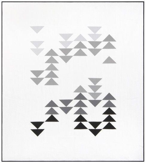 Migration designed by Initial K Studio. Features Kona Cotton. Three color stories (Pink Ombre, Blue Ombre, Grey Ombre). #konacotton