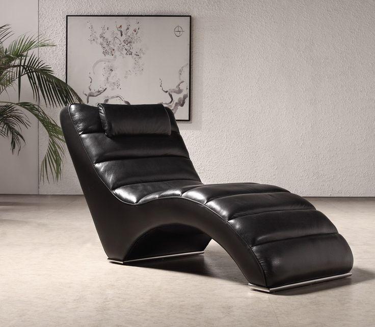 Boco Modern Black Leather Sofa Set