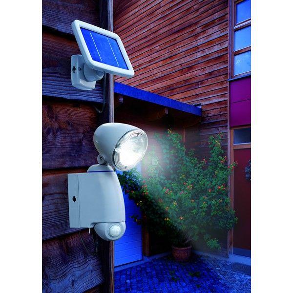 Projecteur solaire détection de mouvement