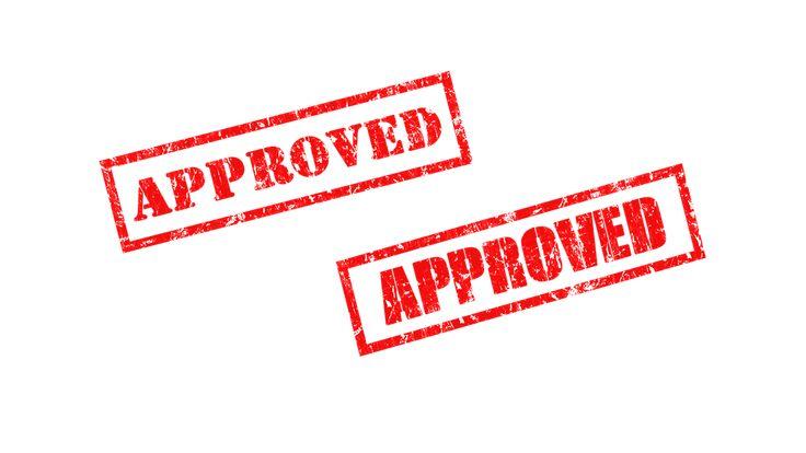 Rubber Stamp Approved transparent image