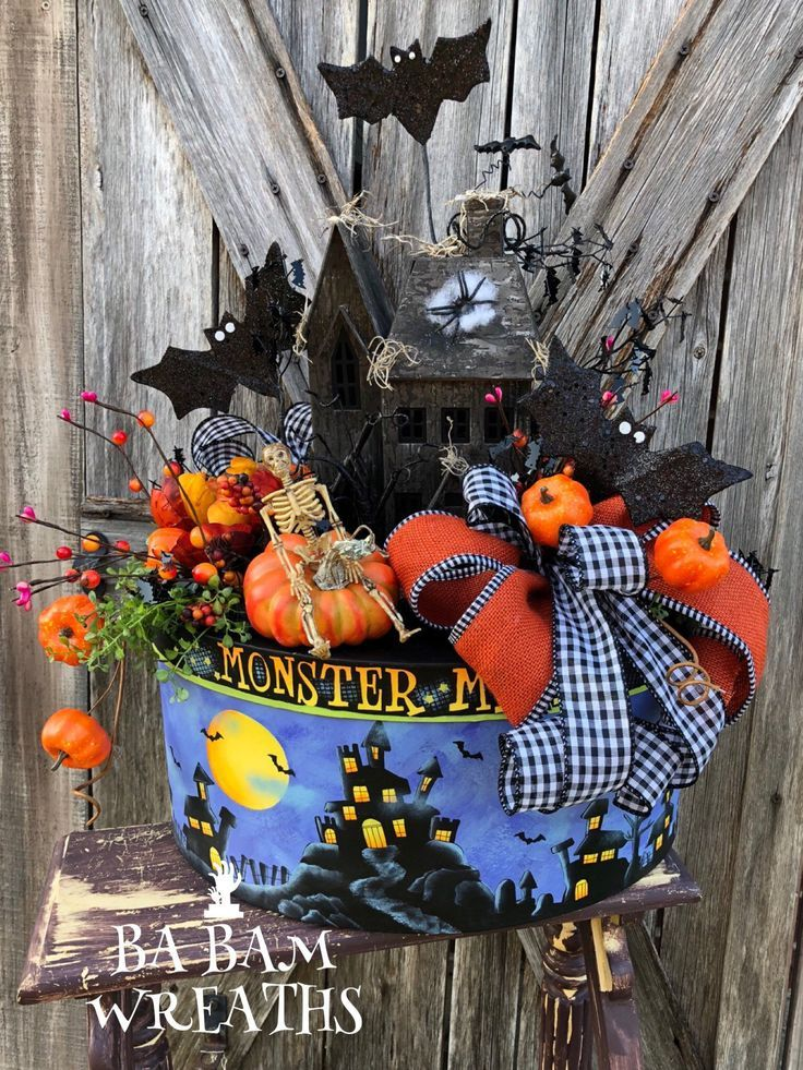Excited to share this item from my #etsy shop Halloween Centerpiece - halloween decorations haunted house